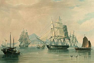 opium ships